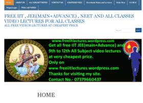 freeiitlectures.wordpress.com