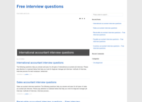 freeinterviewquestions.info
