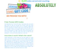 freeitunescodesofgiftcard.com