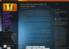 freeitunesgiftcardcodes.wordpress.com