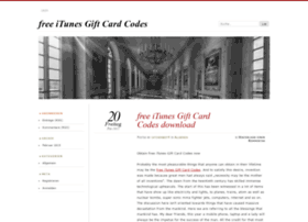 freeitunesgiftcardcodesdownload.wordpress.com