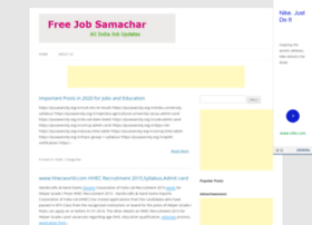 freejobsamachar.blogspot.in