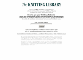 freeknittinglibrary.org