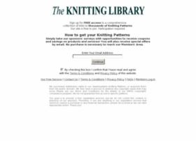 freeknittinglibrary.org