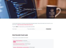 freelancedevleads.com