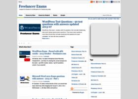 freelancer-exams.blogspot.com