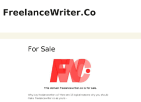 Freelancewriter.co