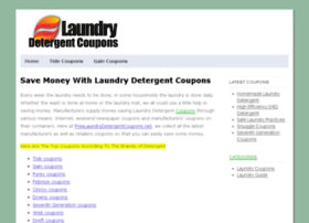 freelaundrydetergentcoupons.net
