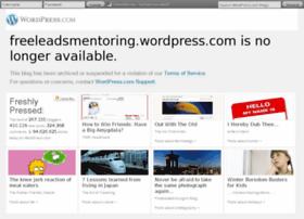 freeleadsmentoring.wordpress.com