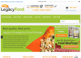 freelegacyfood.com