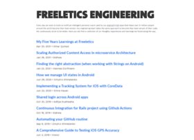 freeletics.engineering