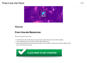 freelivemefans.com
