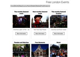 freelondonevents.co.uk