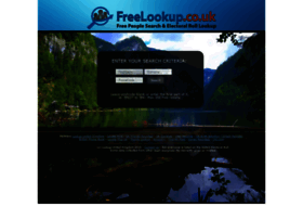 freelookup.co.uk