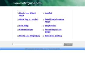 freelosefatguide.com