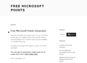 freemicrosoftpointsgen.com