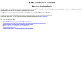 freemusiciansclassifieds.com