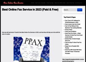 freeonlinefaxservice.org