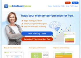 freeonlinememorytest.com