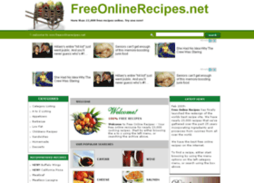 freeonlinerecipes.net