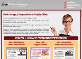 freeonlinesurveys.com.au