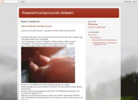 freepremiumaccounts-dxteam.blogspot.com