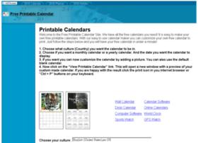 Freeprintablecalendar.net