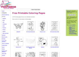 Free Printable Coloring Pages - Free Coloring Pages