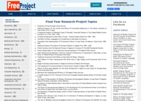 freeprojects.com.ng