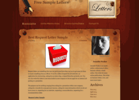 freesampleletters.weebly.com
