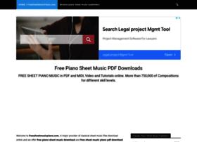 freesheetmusicpiano.com