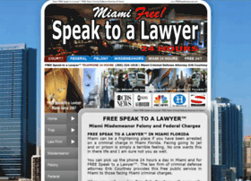 freespeaktoalawyer.com