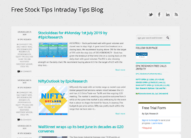 freestocktipsintradaytips.blogspot.in