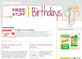 freestuff4birthdays.com