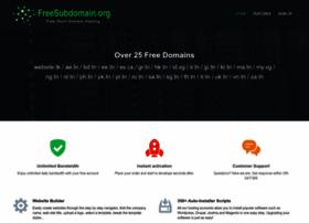 freesubdomain.org