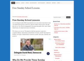 freesundayschoollessons.org