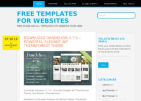 freetemplatesforwebsites.wordpress.com