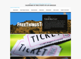 freethingstodoinlosangeles.com