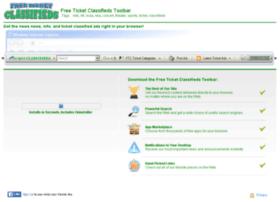 freeticketclassifieds.communitytoolbars.com