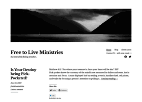 freetoliveministries.org