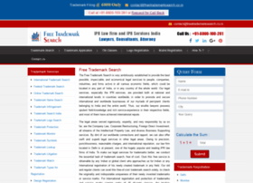 freetrademarksearch.co.in