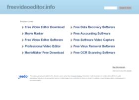 freevideoeditor.info