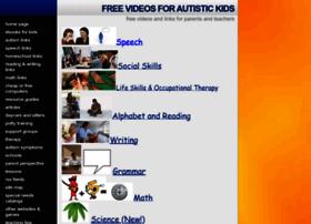 freevideosforautistickids.com