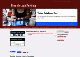 freevintageknitting.com