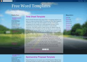 freewordtemplates.blogspot.com