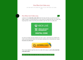 freexboxlivecodes2015.wordpress.com