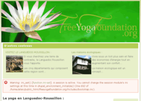 freeyogafoundation.org