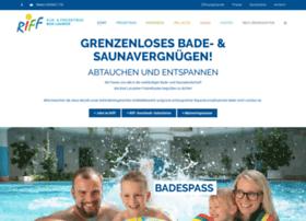 freizeitbad-riff.de