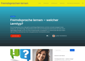 fremdsprachelernen.info