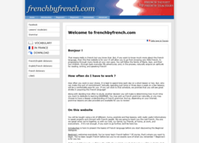 frenchbyfrench.com